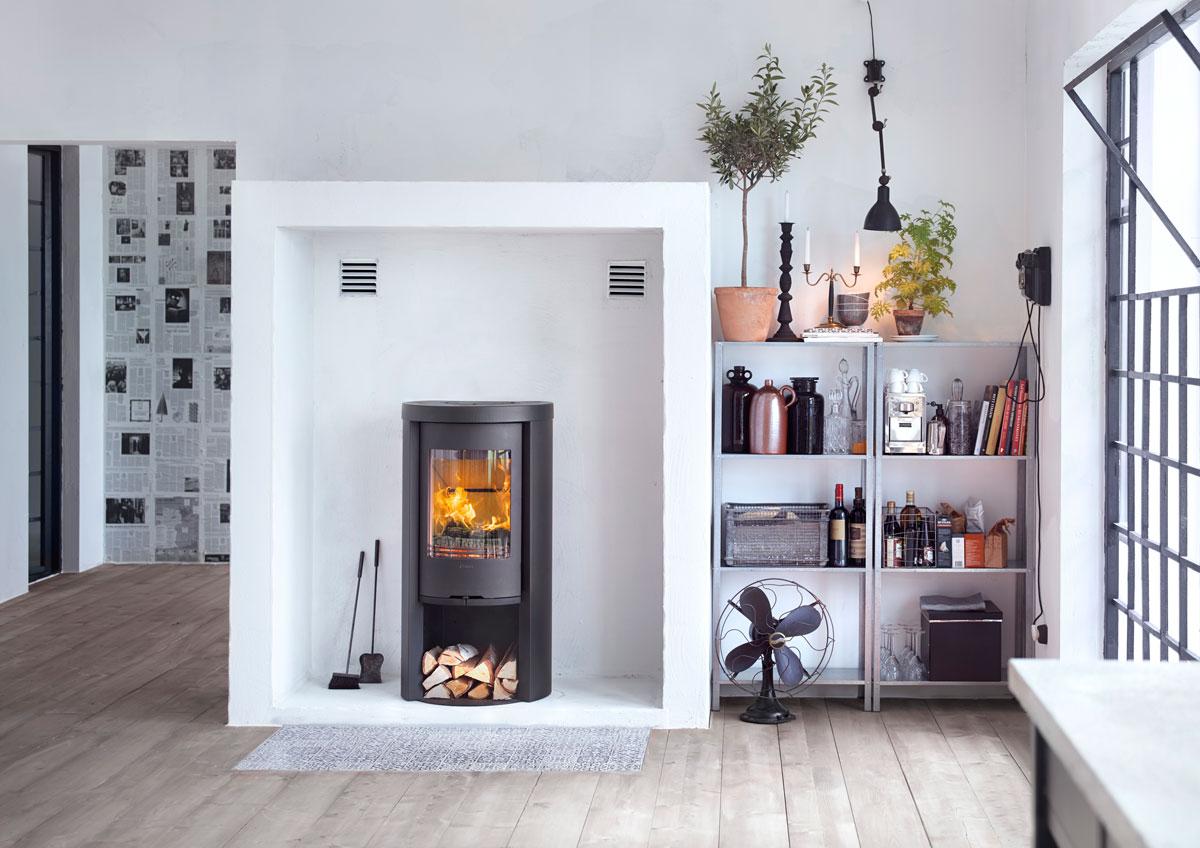 po le bois contura 520 style origine rouen. Black Bedroom Furniture Sets. Home Design Ideas