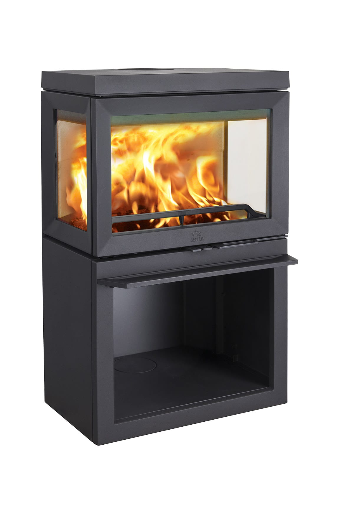 po le bois jotul f 520 origine rouen. Black Bedroom Furniture Sets. Home Design Ideas