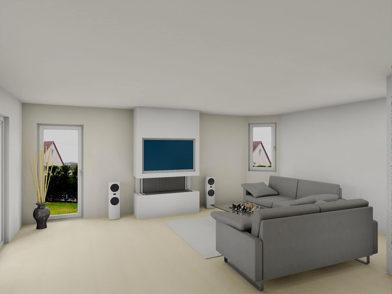 chemin e gaz panoramique avec habillage cran tv bourg achard origine rouen. Black Bedroom Furniture Sets. Home Design Ideas