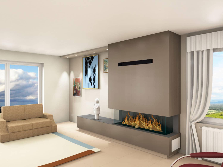 Rénovation d'une cheminée gaz à Evreux