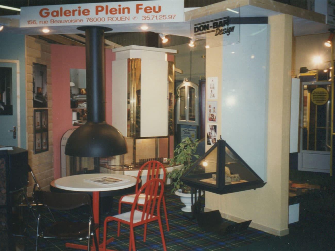 poêle et cheminée à Rouen : poêles à bois modernes & design