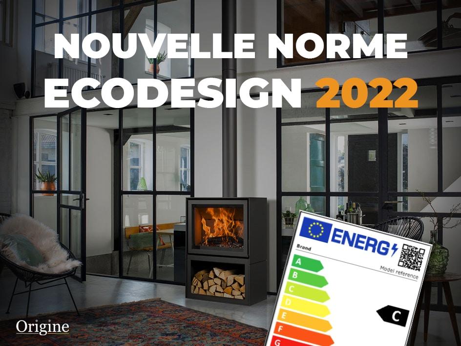 origine cheminee poele bois rouen norme ecodesign label