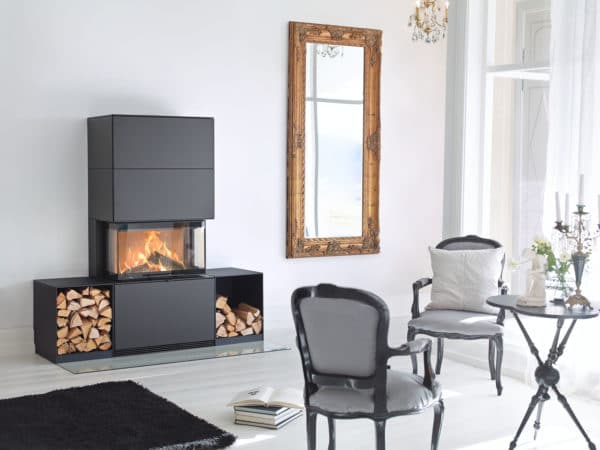 foyer bois contura i51 noir